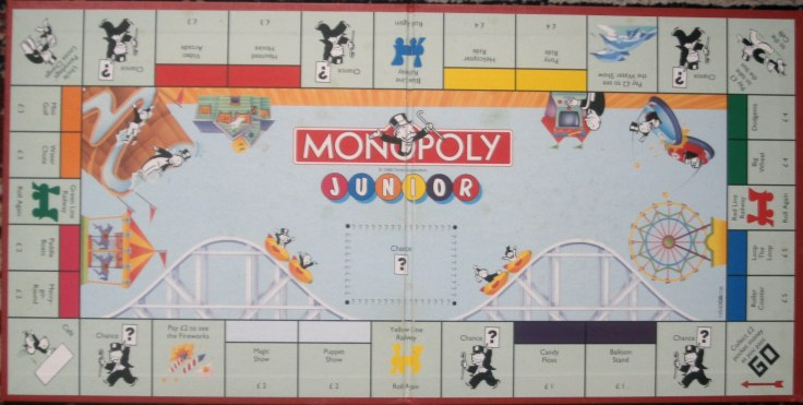 how to make a custom monopoly board